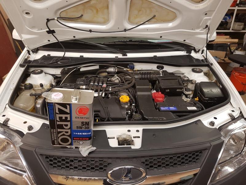 Выбор моторного масла для двигателя Лада Ларгус 16 клапанов 1.6 л.