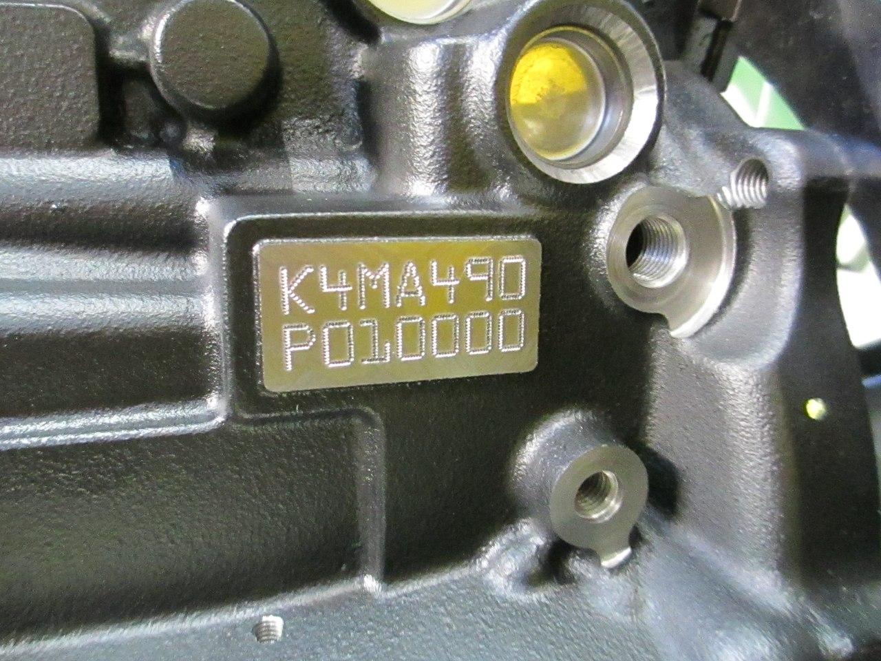 Где находится номер двигателя Лада Ларгус?