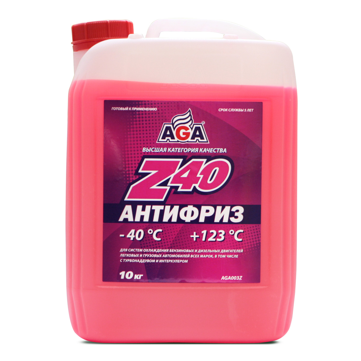 ANTIFREZE AGA-Z40 PREMIX