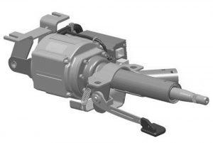 рулевая колонка с мотором электроусилителя рулевого управления
