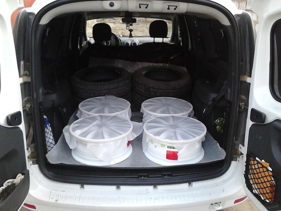 Разболтовка колесных дисков Лада Ларгус R19 R20 2019, 2020