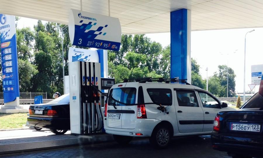 Какой расход топлива Лада Ларгус на 100 км?