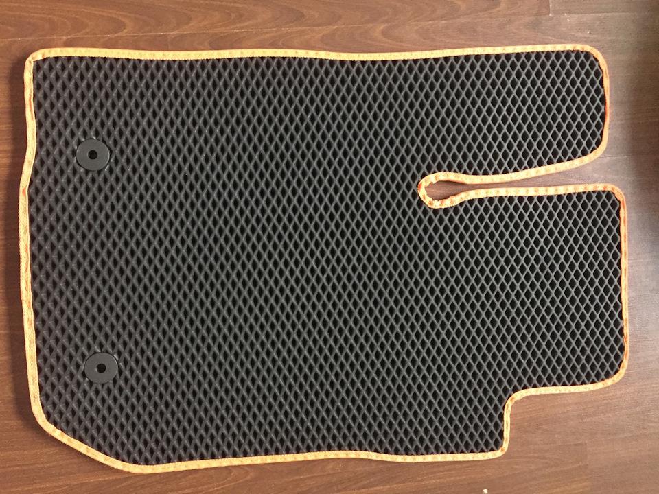ЕВА-коврики Лада Ларгус в салон 5 и 7 мест