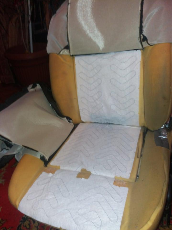 Замена подогрева сидений Лада Ларгус