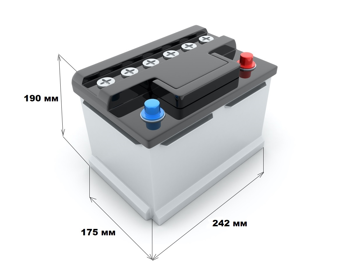 Размер аккумулятора Лада Ларгус