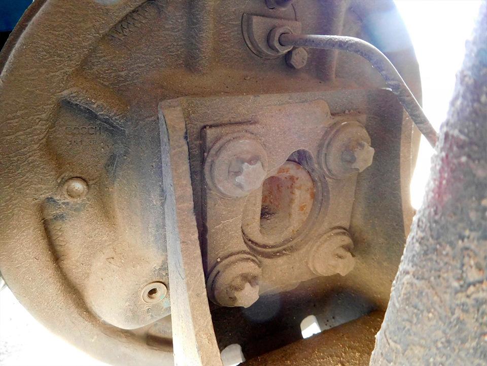 Задние дисковые тормоза Лада Ларгус