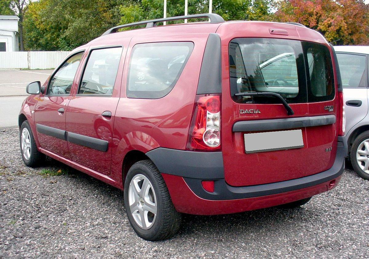 Машины похожие на Лада Ларгус - Dacia Logan MCV