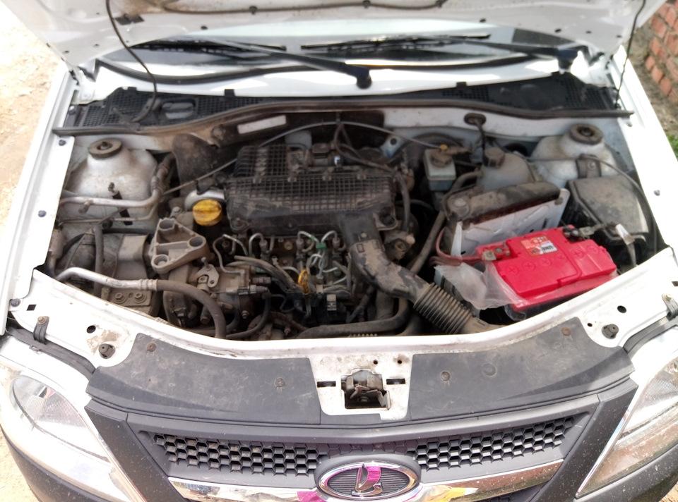 Лада Ларгус с дизельным двигателем под капотом